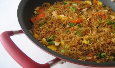 Shezwan Chicken Fried Rice
