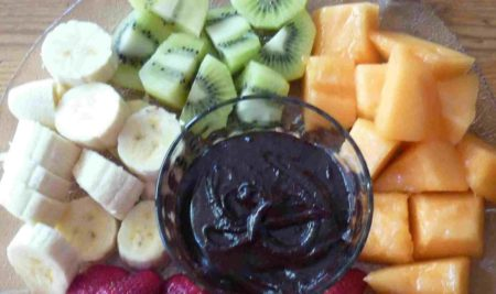 Chocolate Sauce for Fresh Fruit